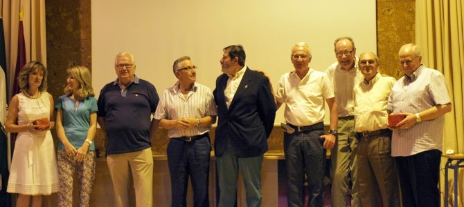 Fotos del acto de homenaje de jubilación 2013