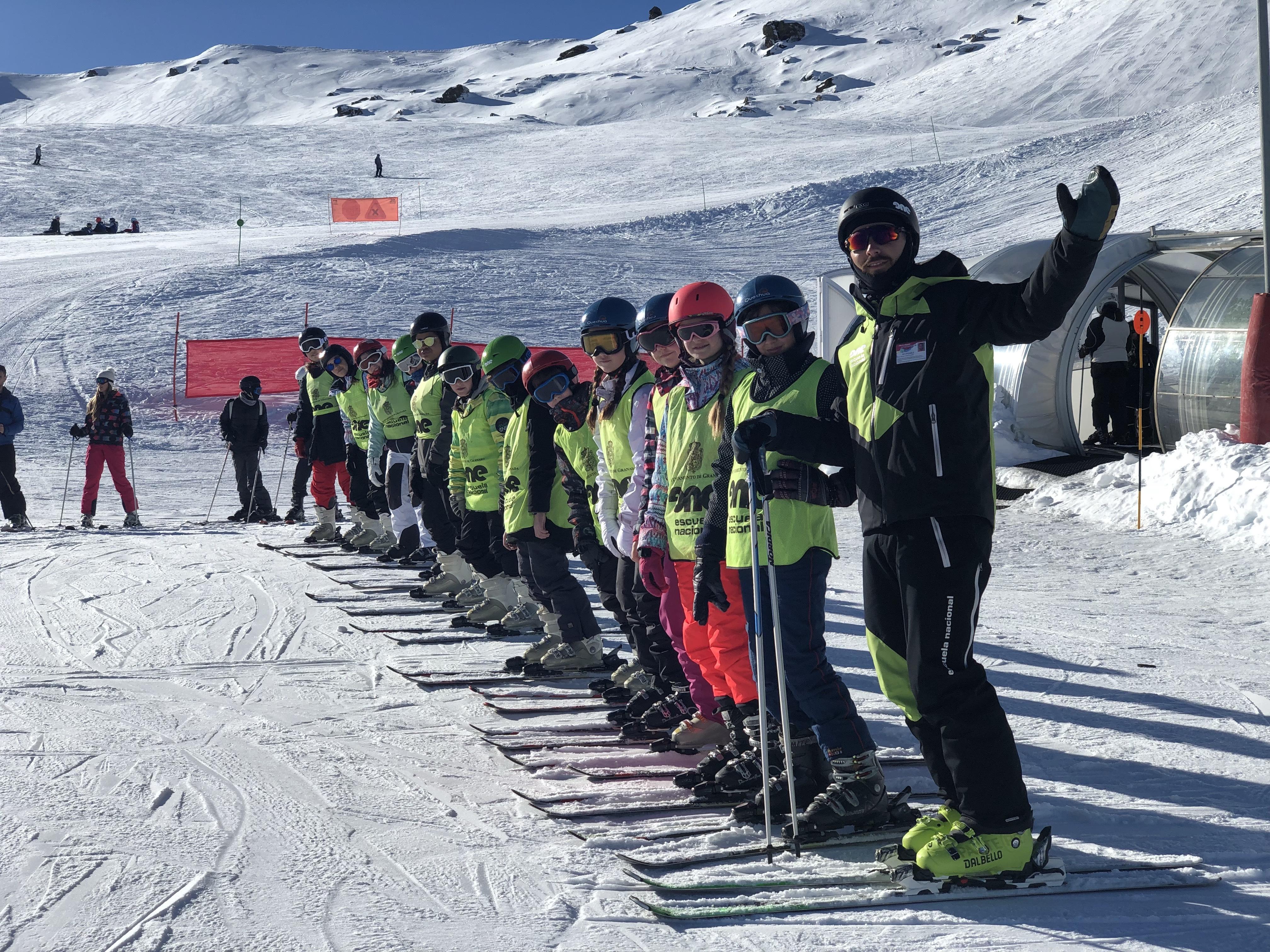 Galería curso de esquí 2018