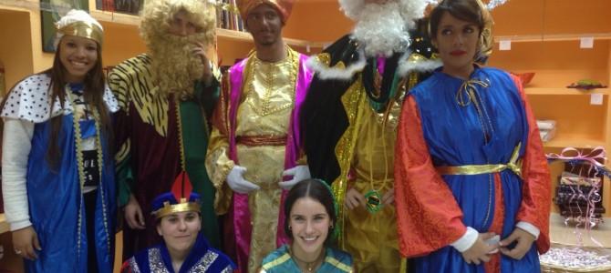 Tarde de Reyes con los alumnos de 2º de Bachillerato de Humanidades