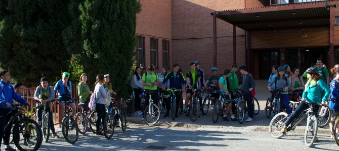 Galería ciclo ruta Salvar la Vega