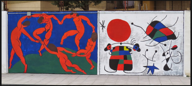 Pinturas murales del IZV