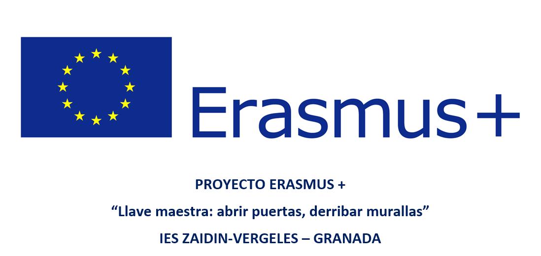 """Erasmus +: """"Llave maestra: abrir puertas, derribar murallas"""""""