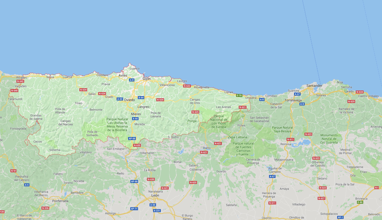 Viaje de Estudios 1º Bachillerato por Asturias y Cantabria