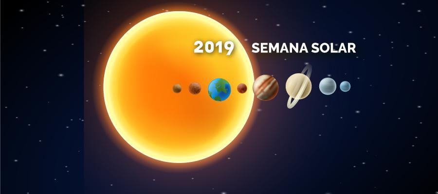 Semana Solar 2019: Evolución