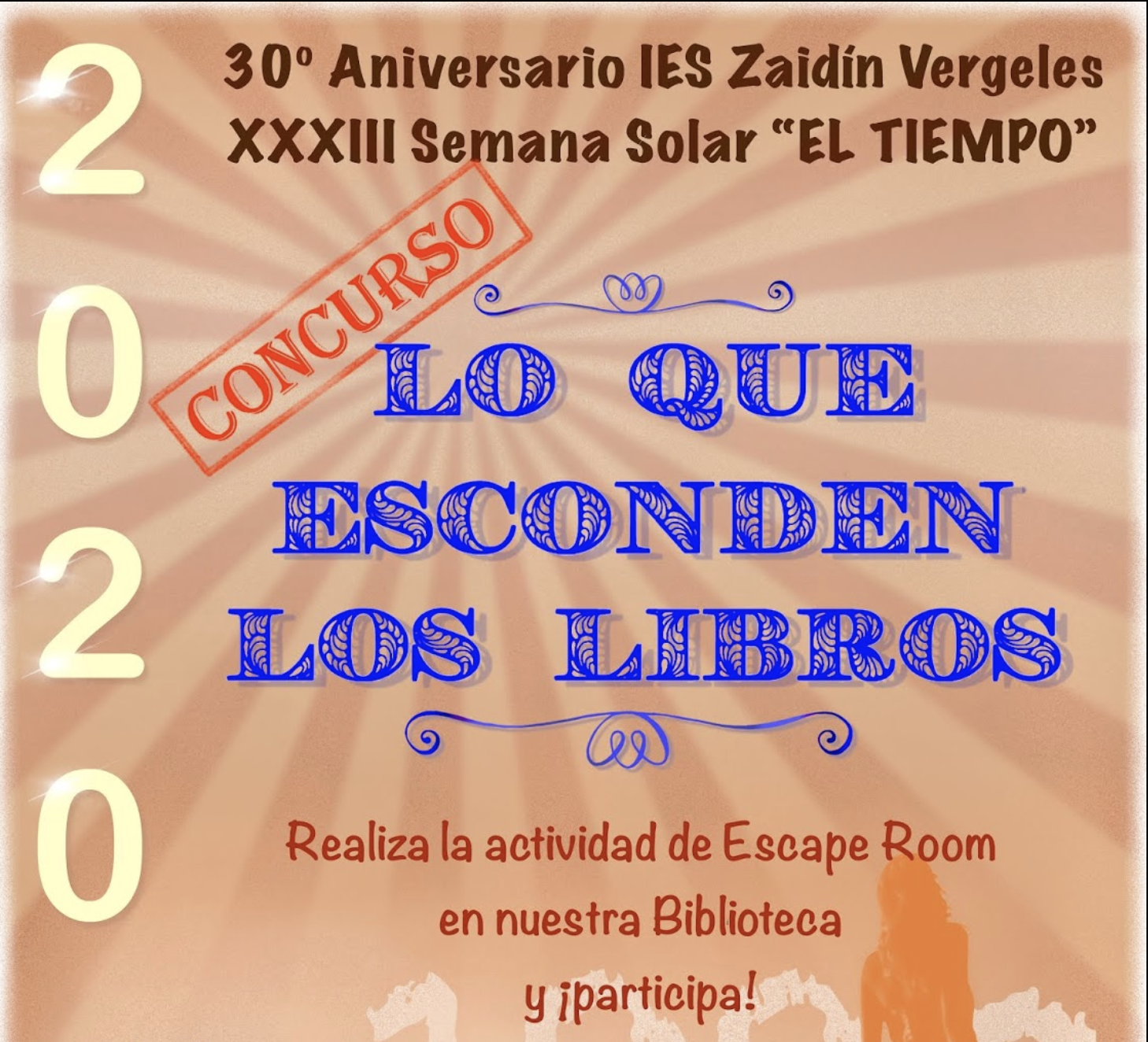 """Concurso """"Lo que esconden los libros""""."""