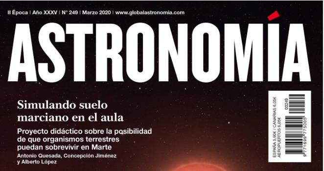 Simulando suelo marciano en el aula